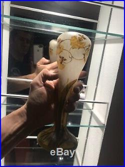 Vase Daum Orchidées