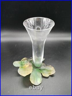 Vase Daum au Lézard