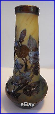 Vase En Pate De Verre Nancy Signe Laflor