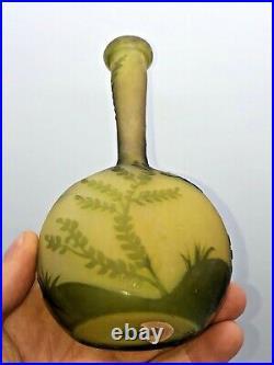 Vase Gallé (1904-1936) décor de Fougères