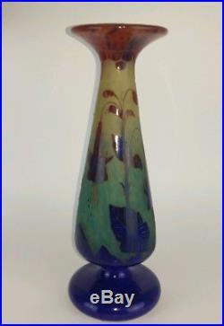 Vase Le Verre Fran 231 Ais Vase D 233 Cor De Fuchsias