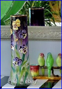 Vase Legras. TRES RARE Modèle LAMARTINE. Grande Taille