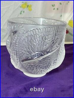 Vase Rene Lalique Modele Andromede