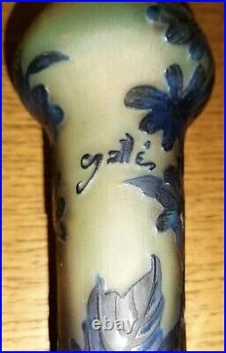 Vase art déco signé Gallé tip