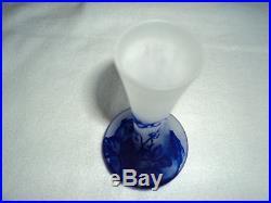Vase c vessiere era daum galle muller pate de verre art deco, nouveau 1900