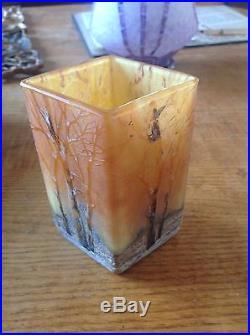 Vase daum a neige