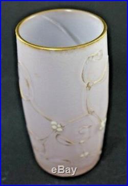 Vase daum au gui (no galle)