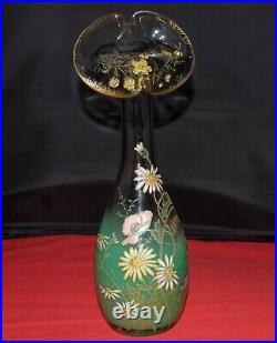 Vase émaillé Legras