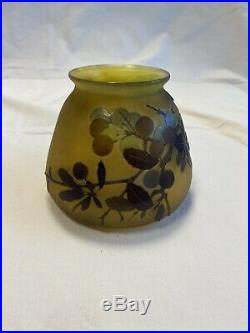Vase emile galle Art Nouveau