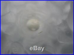 Vase en pate de verre Daum signé