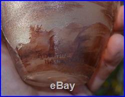 Vase en pâte de verre delatte (no galle daum)