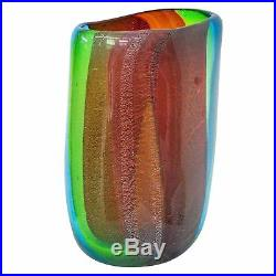 Vase en verre murano style antique murano 33cm