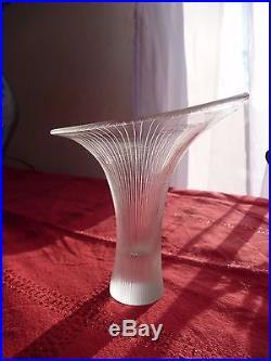 Vase kantarelli 1955 by wirkkala tapio glass & crystal