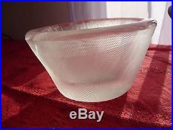 Vase modéle jakala ca 1961 by wirkkala tapio glass & crystal