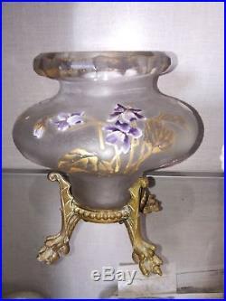 Vase montjoye Legras