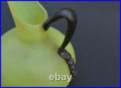 Vase pichet SCHNEIDER (no daum galle verre Français)