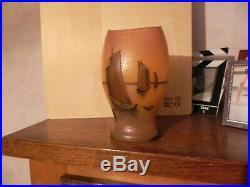 Vase signé legras
