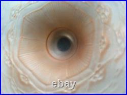 Vercais Schneider 1930 Rare Vasque Coupe Art Deco Opalescente Pate Verre France