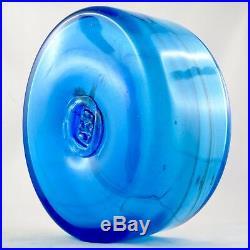 Vintage Verre MAURE VIEIL Mandelieu Glass Design 60/70 novaro/monod/morin/cannes